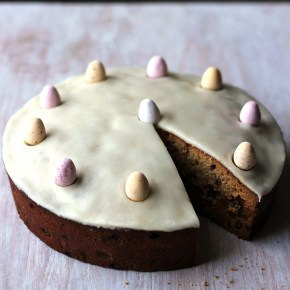 All-in-one ginger Simnel cake