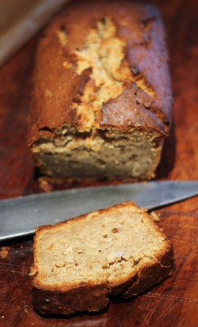 Caribbean treat: Banana cake with rum & spices