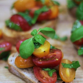 Belting bruschetta