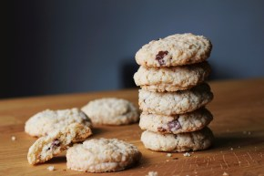 Coconut choc chipcookies