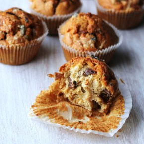 Stilton & caramelised onion muffins