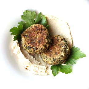 Middle Eastern treat: Baked falafel