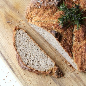 Rosemary & buckwheat soda bread