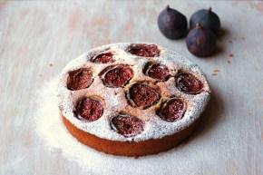 Fig frangipane cake