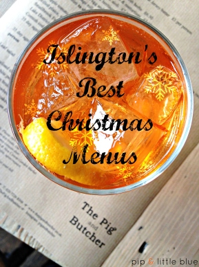 Islington's best Christmas menus